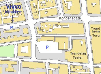 Kart som viser vivvoklkinikken